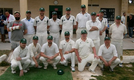Cricketers_CC Malta Sports Cricket Tour
