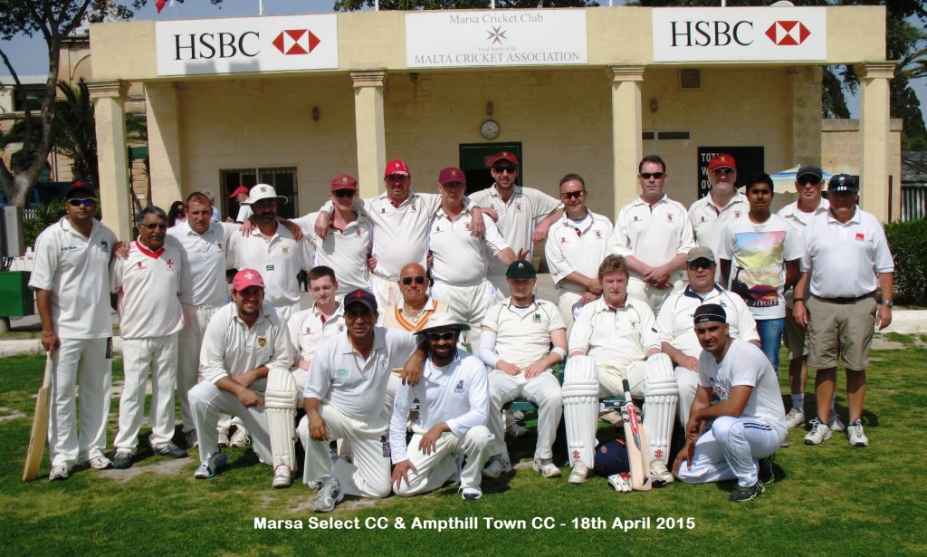 Amthill Town CC & Marsa Select CC - 18th April 2015