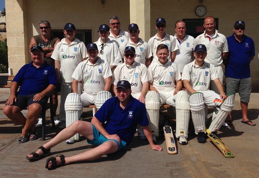 Mawdesley Cricket Club - Malta Cricket Tour - Group Photo